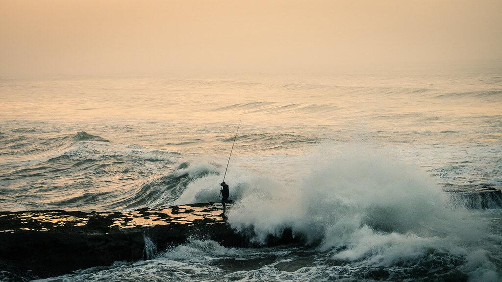Amine Fassi - Fisherman Morocco - Ain Atiq Beach