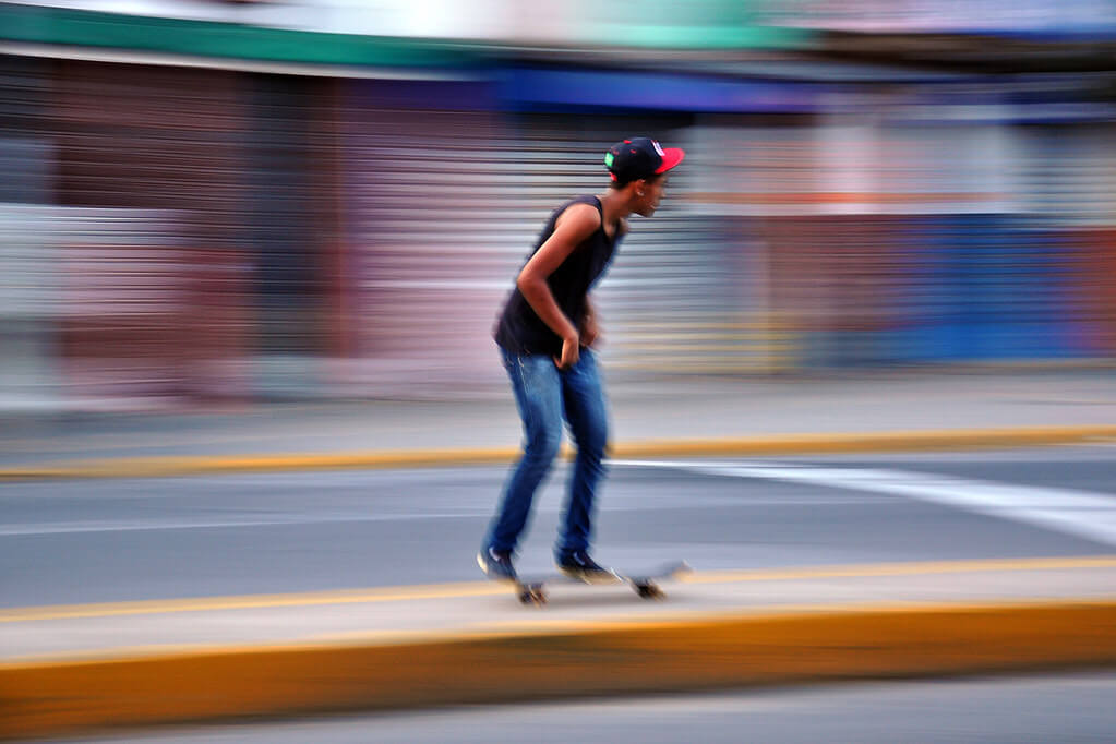 Otacílio Rodrigues - Skating motion blur