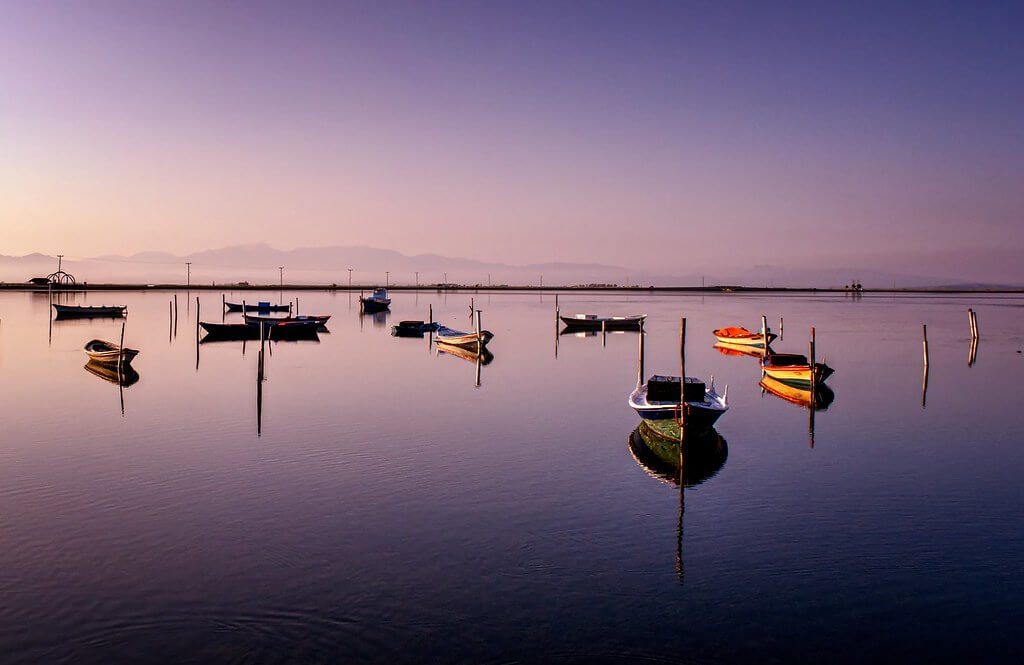 Tenia Prokalamou - boats Mesolonghi