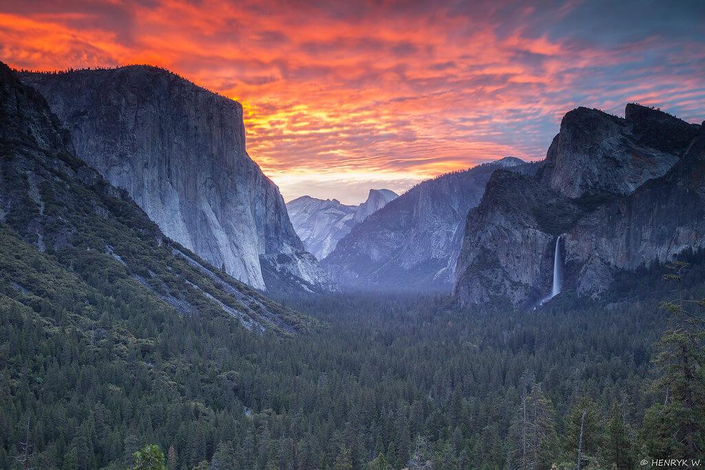 Henryk - Yosemite Sunset