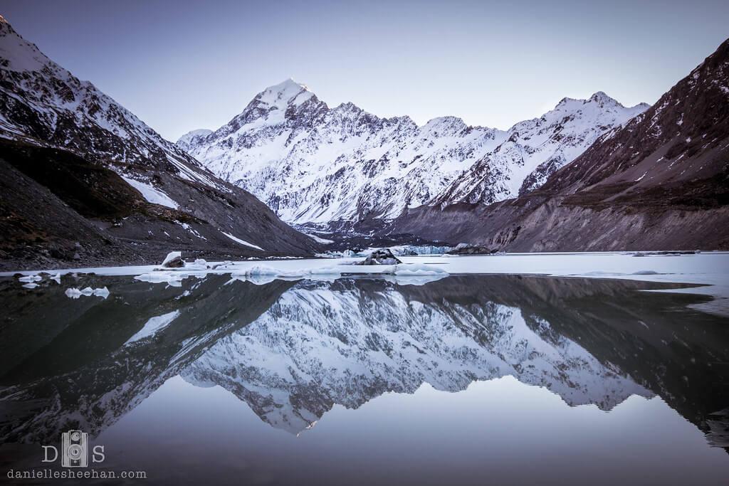 Danielle Sheehan Photography - Mountain Reflection New Zealand Aoraki