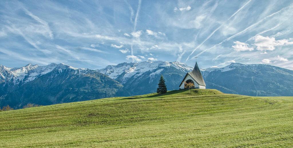 Eli Dodaj - church on hill