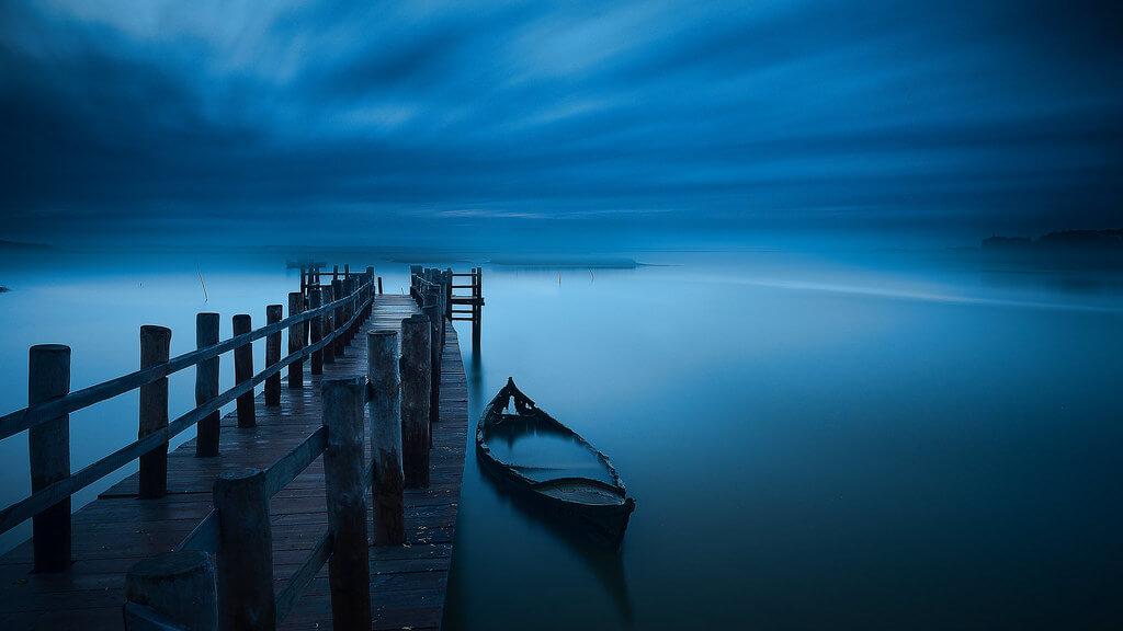Joao Cruz Santos - blue hour long exposure