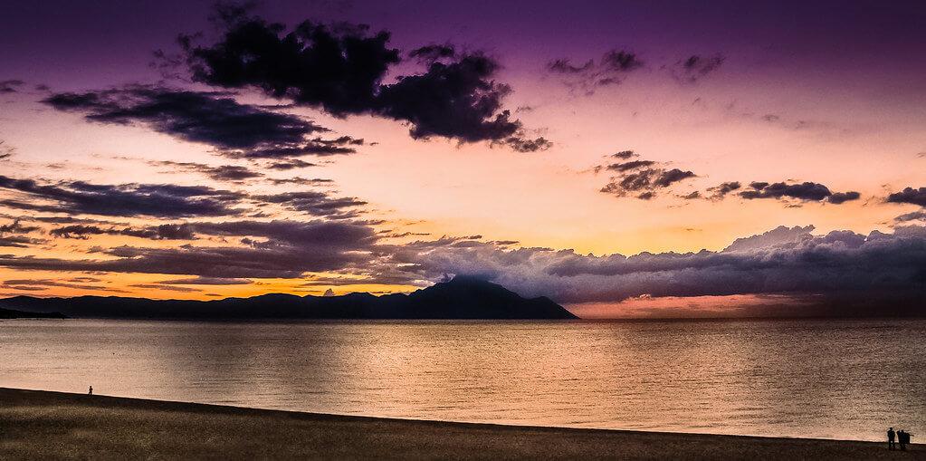 Елена Пејчинова - Mount Athos at Dawn