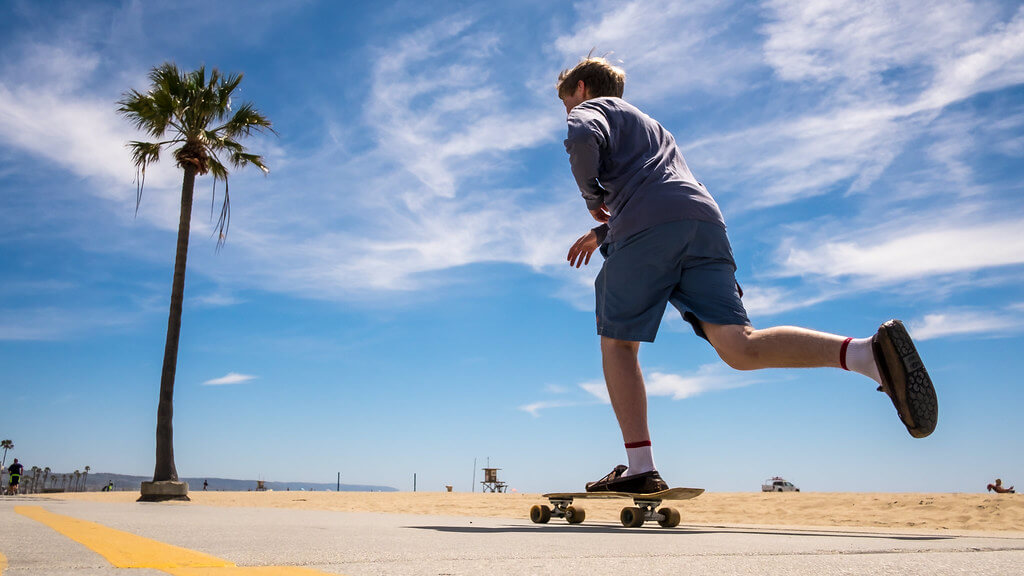 Giuseppe Milo - Skater in Venice Beach - Log Angeles, United States