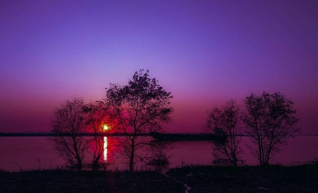 Htin Lin Han - Myanmar Sunset