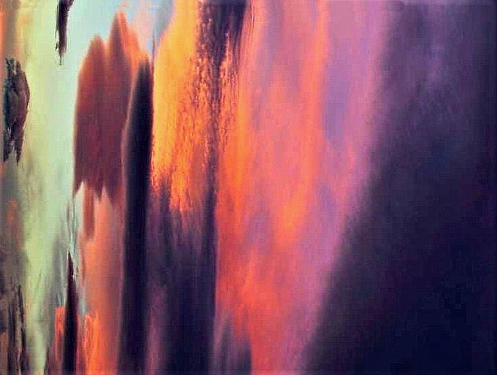 Lee Musgrave - Sunset rotated 45 degrees