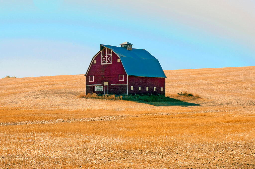Hammerin Man - Palouse Country barn
