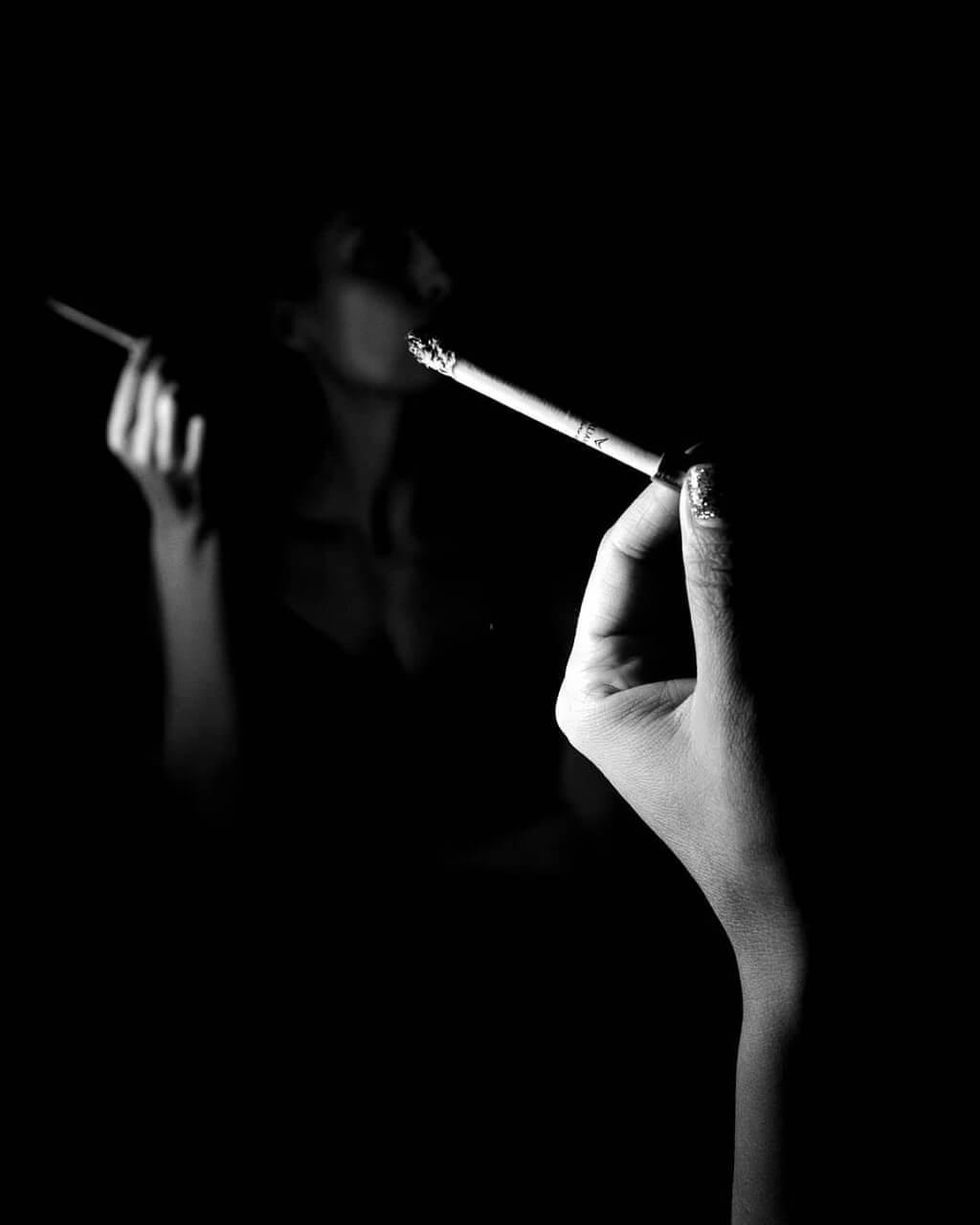 Daniel Turan - cigarette mirror