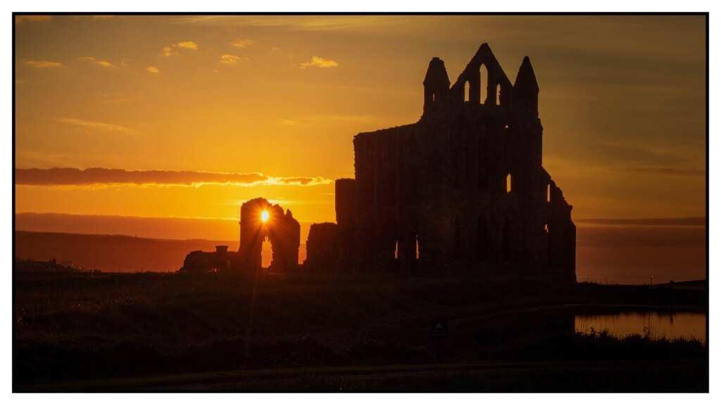 Darren Wilkin - Whitby Sunset