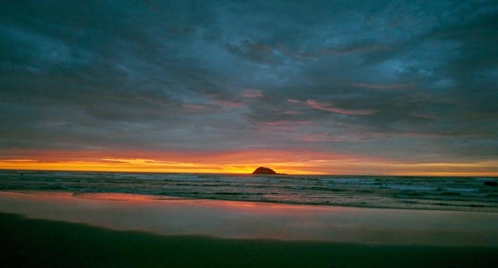 Ron Crosby - Beach near Auckland