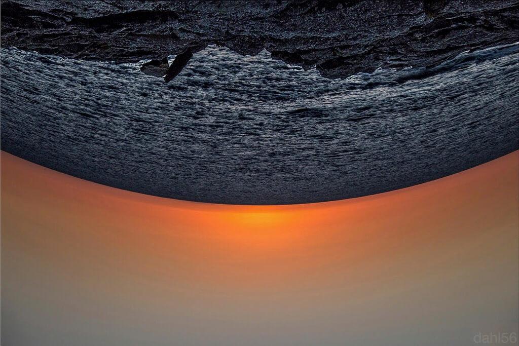 Detlef AHLERS inverted sunset