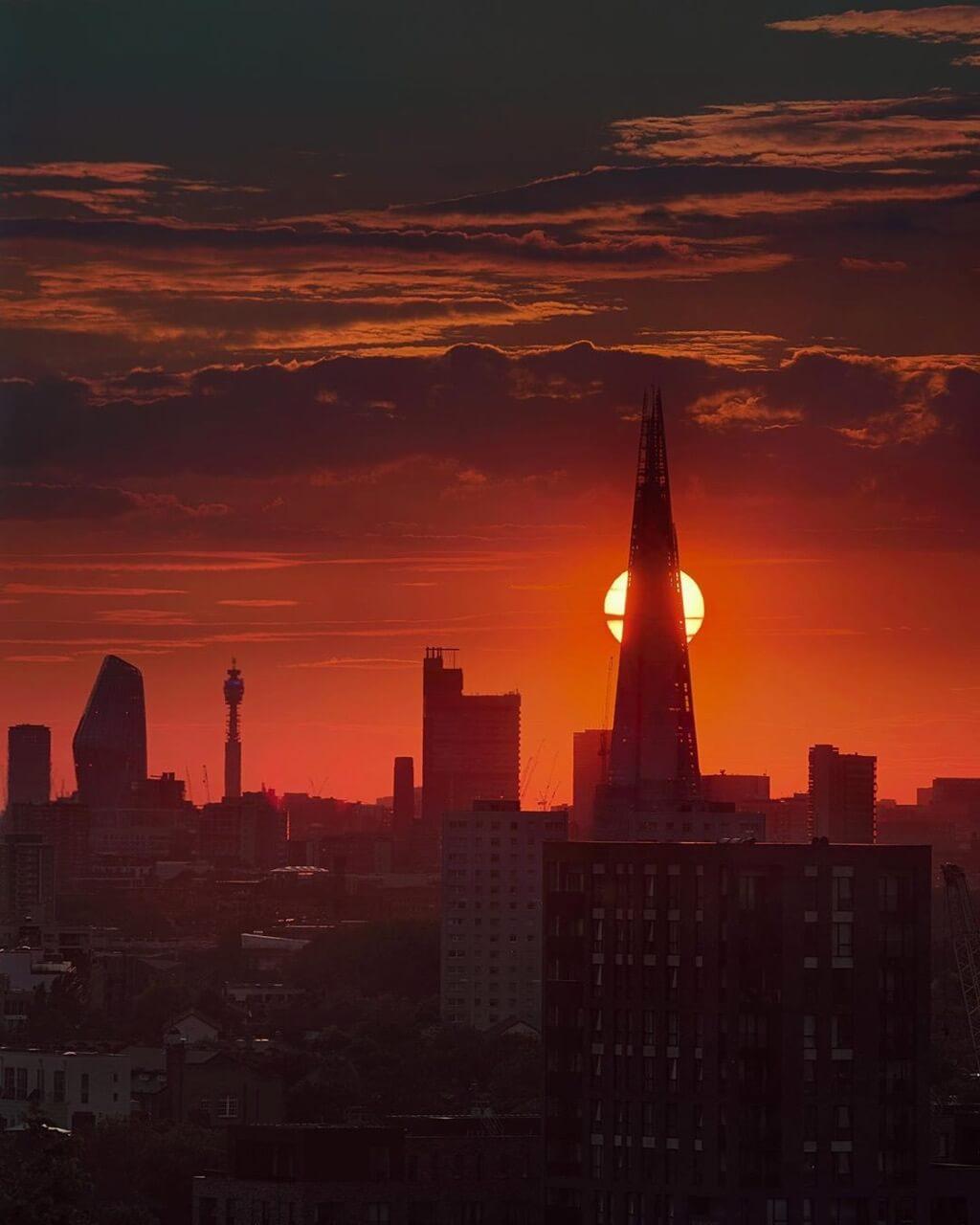 Fabien Butazzi - London Sunset