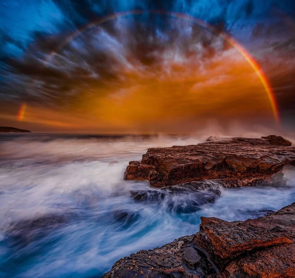 Paul Foley - Rainbow Sunset
