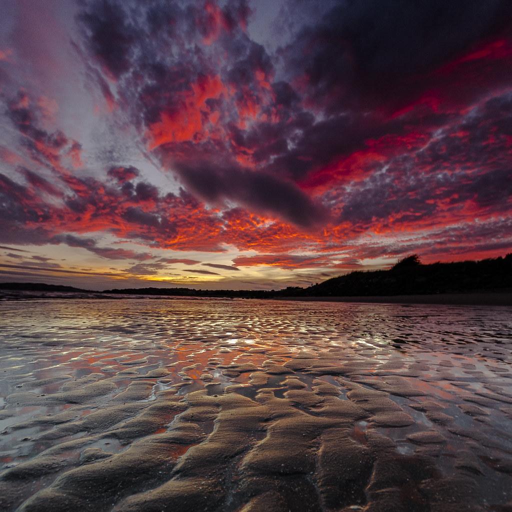 Ben - red clouds