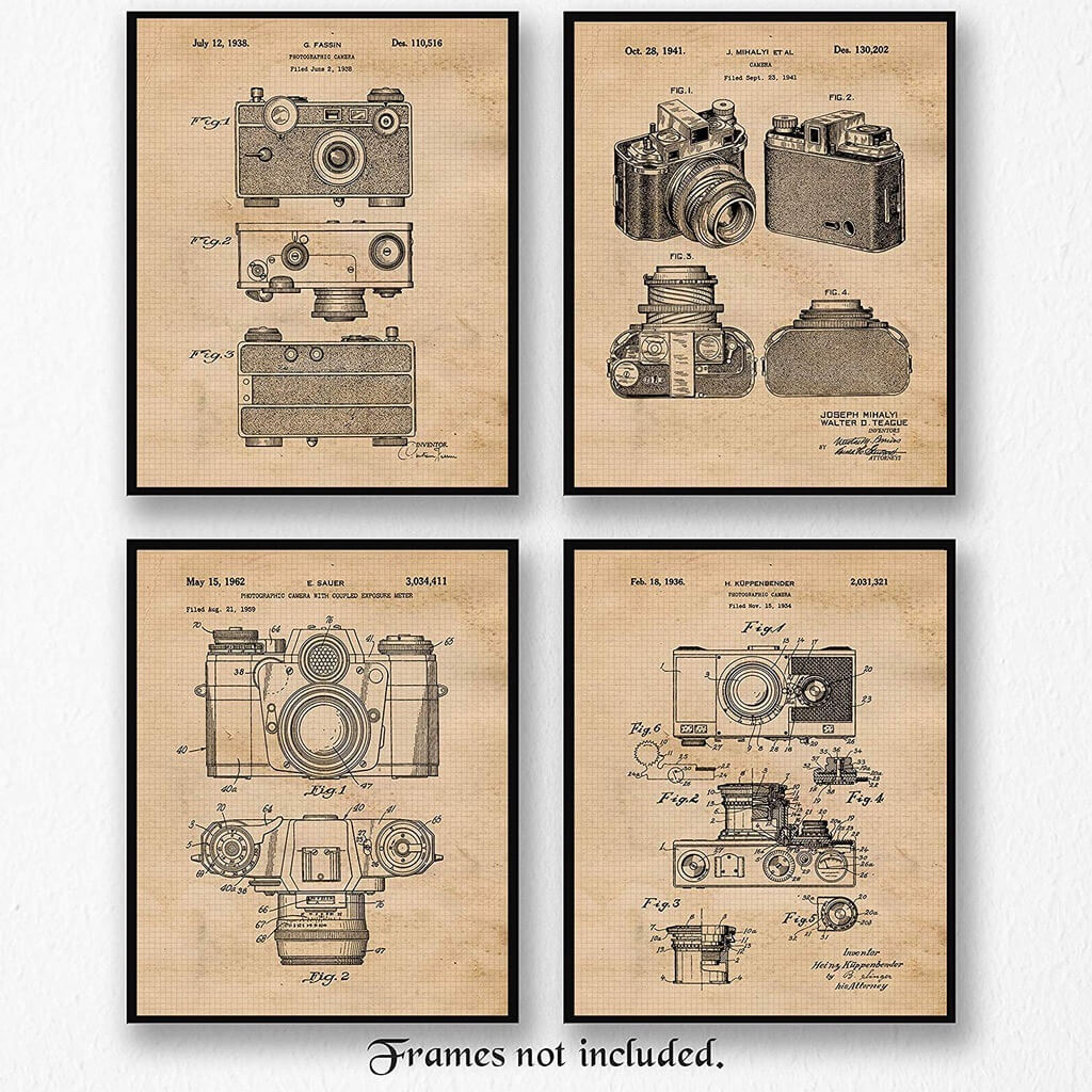 Camera Patent Poster Prints