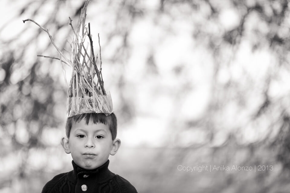 photography by anika alonzo - kid portrait
