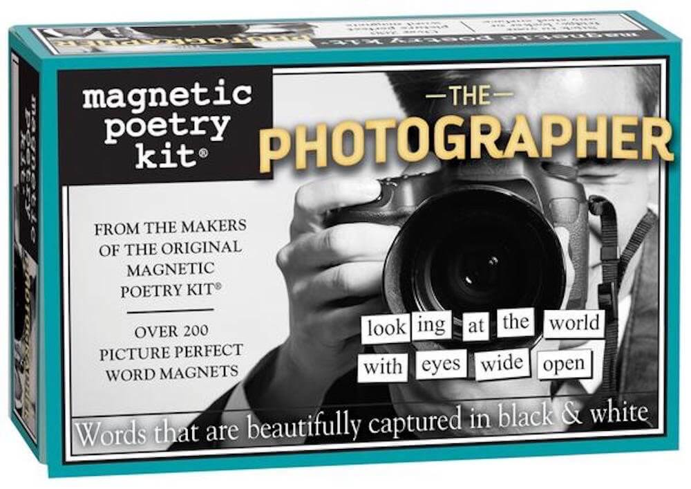 Magnetic Poetry - The Photographer Kit