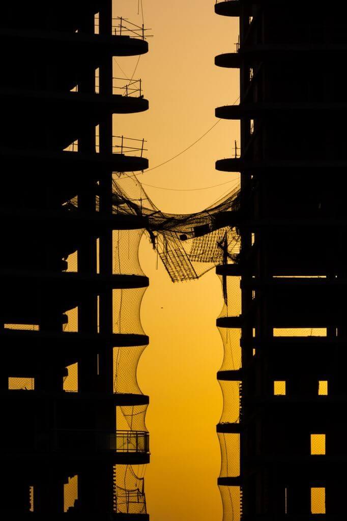 Ximo Michavila - building silhouette