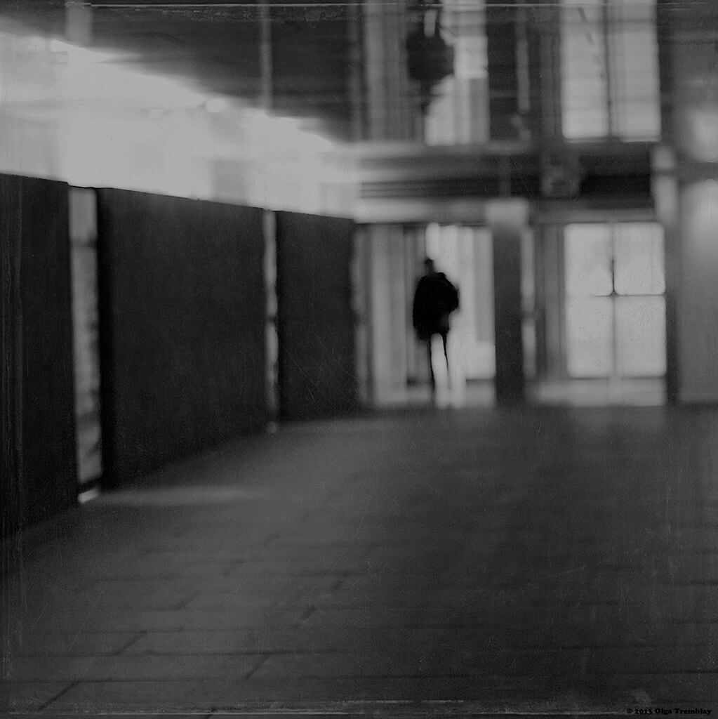 Olga Tremblay - blurred silhouette