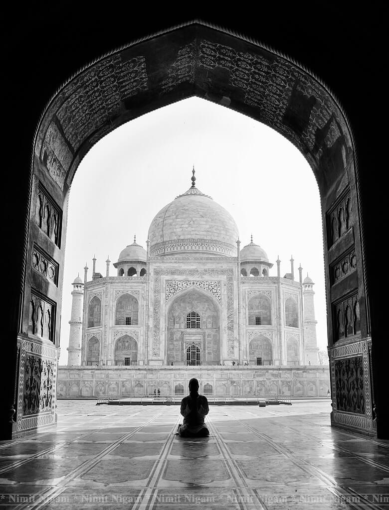 Nimit Nigam - Namaz at Taj Mahal