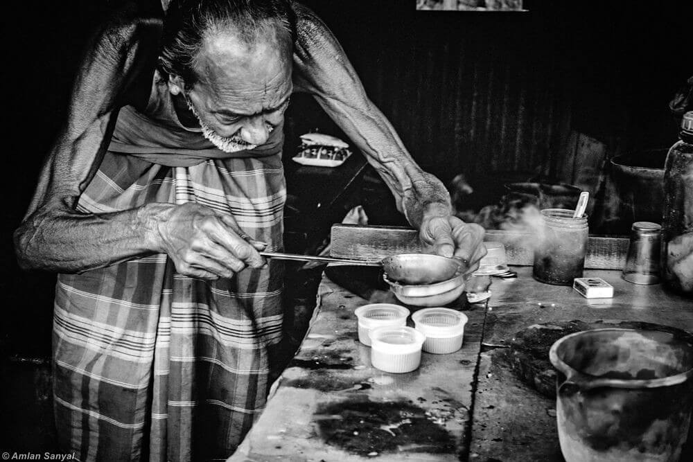 Amlan Sanyal - Tea maker