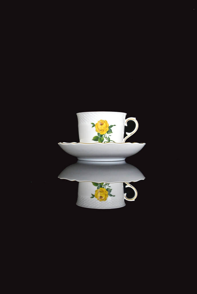 R Brown - Still Life teacup