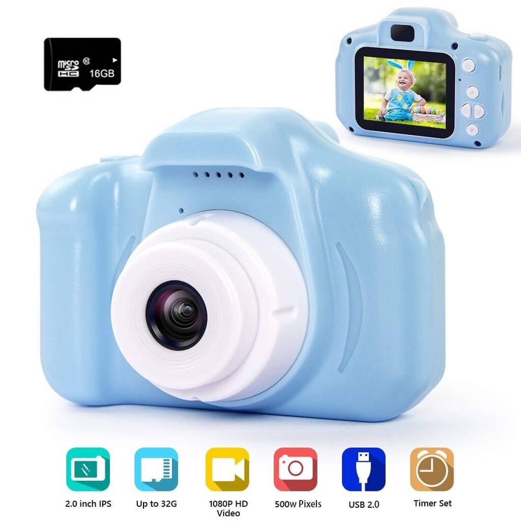 hyleton Digital Camera for Kids
