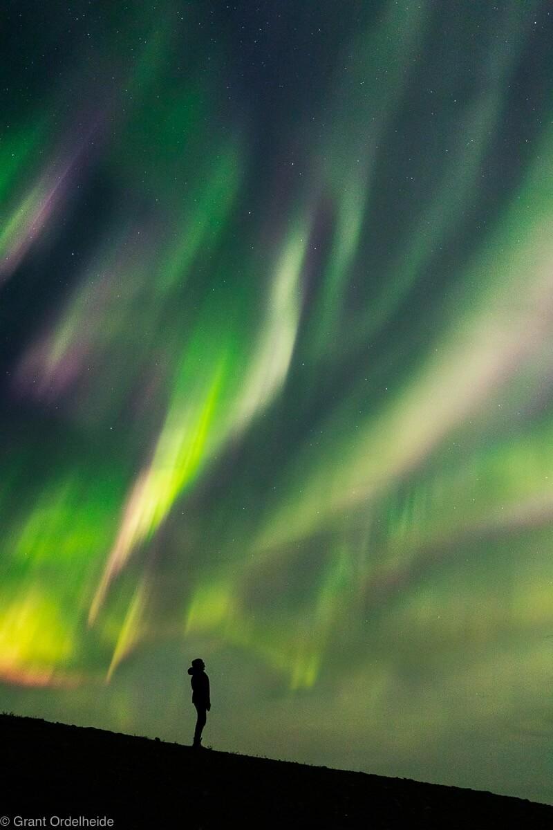 Grant Ordelheide - Midnight Dome Aurora