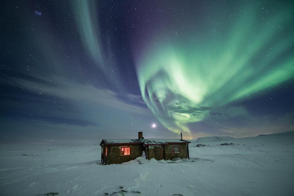 Hille Thomasson - finland aurora borealis