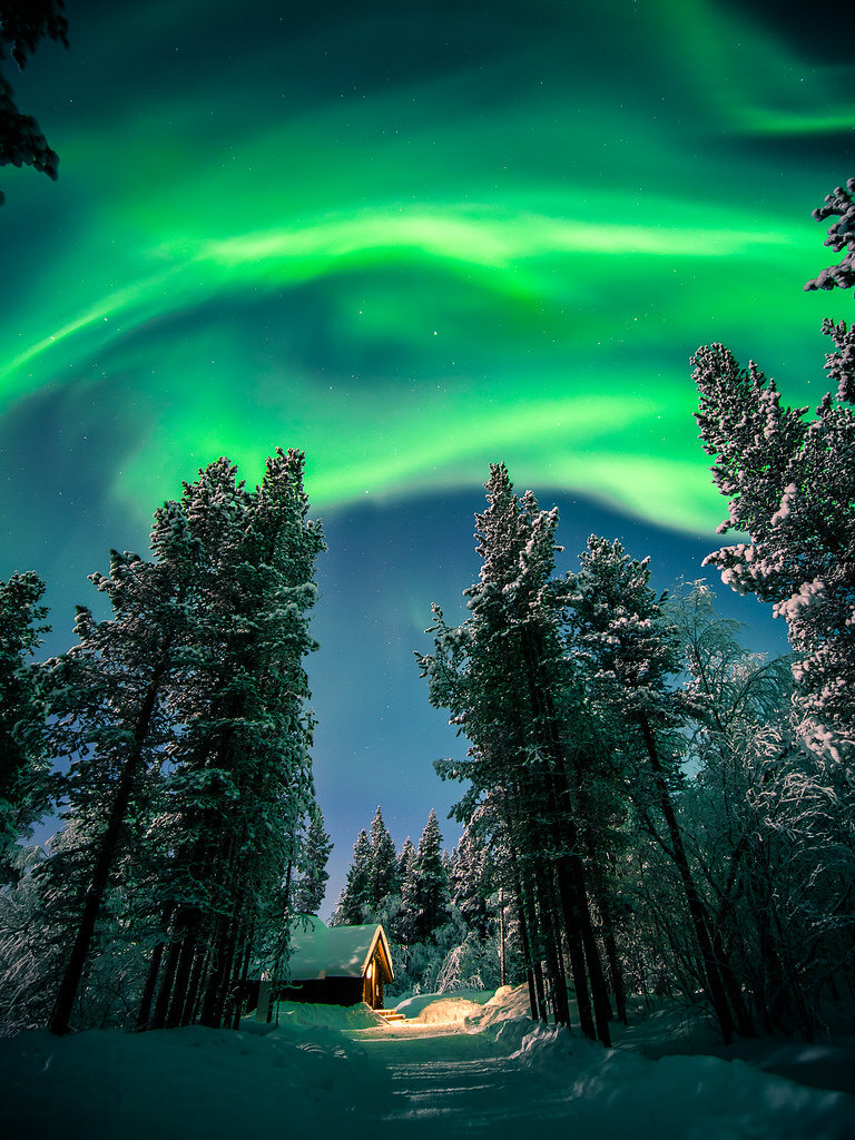 Giuseppe Milo - The Northern Lights - Ivalo, Lapland