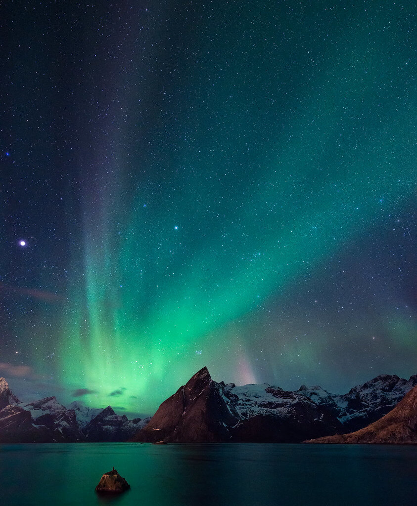 Marco Romani - aurora borealis in Norway
