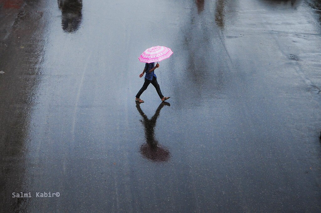 Salmi Kabir - A Man With a Umbrella