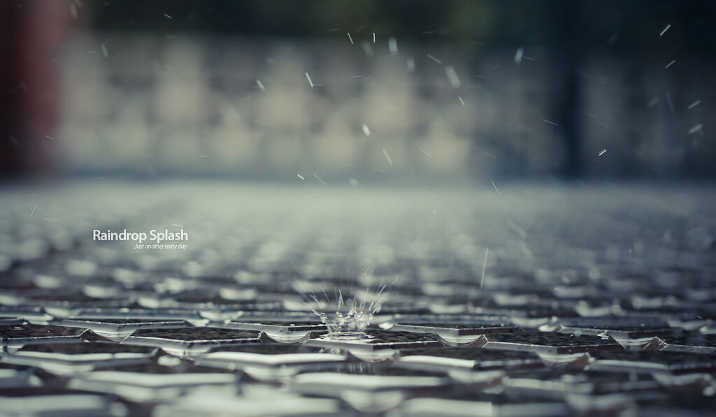 Jochen Vander Eecken - Raindrop Splash