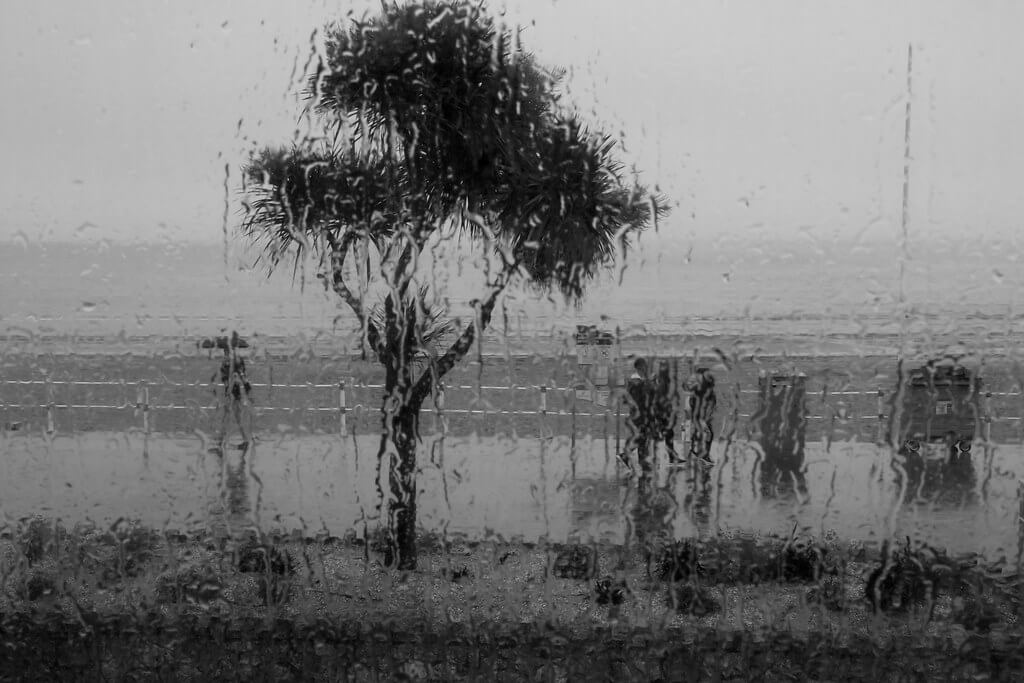 Jeremy Segrott - Bank Holiday weather: Weymouth in the rain