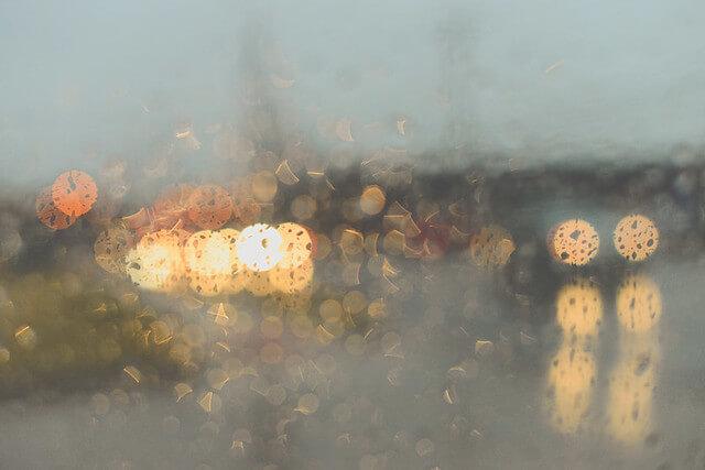 jordan parks - bokeh rain cars