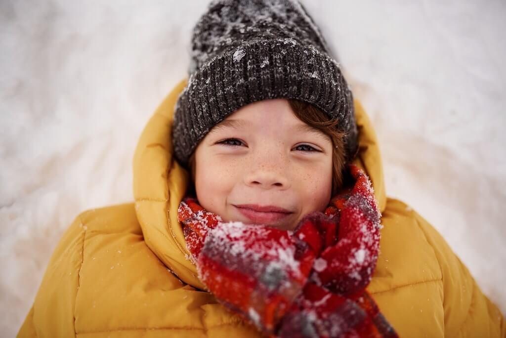 Elizabeth Bauer - snow portrait