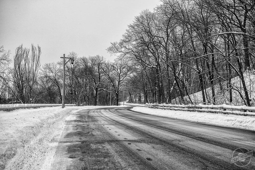 CJ Schmit - Snowy Road