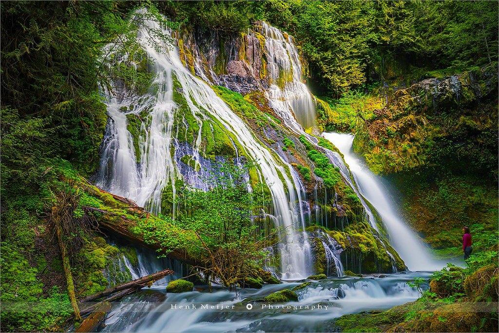 Henk Meijer Photography - Panther Creek Falls, Washington, USA