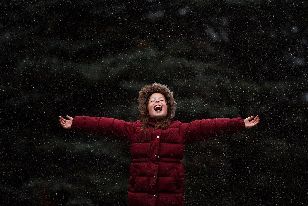 Elizabeth Sallee Bauer - Snow portrait