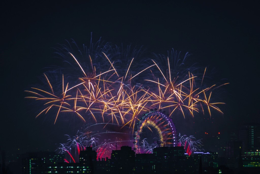 Fabien Butazzi - London New Year Fireworks