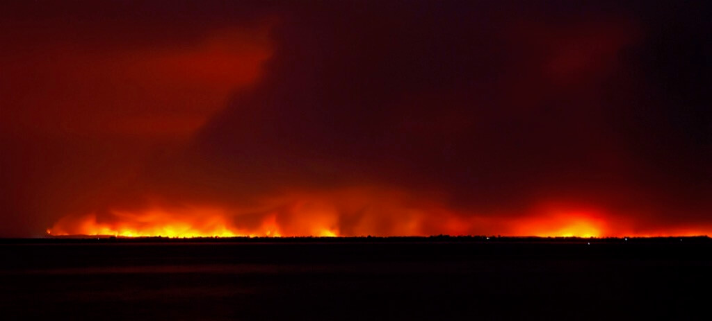 Janette Anderson - East Gippsland fires in Victoria, Australia
