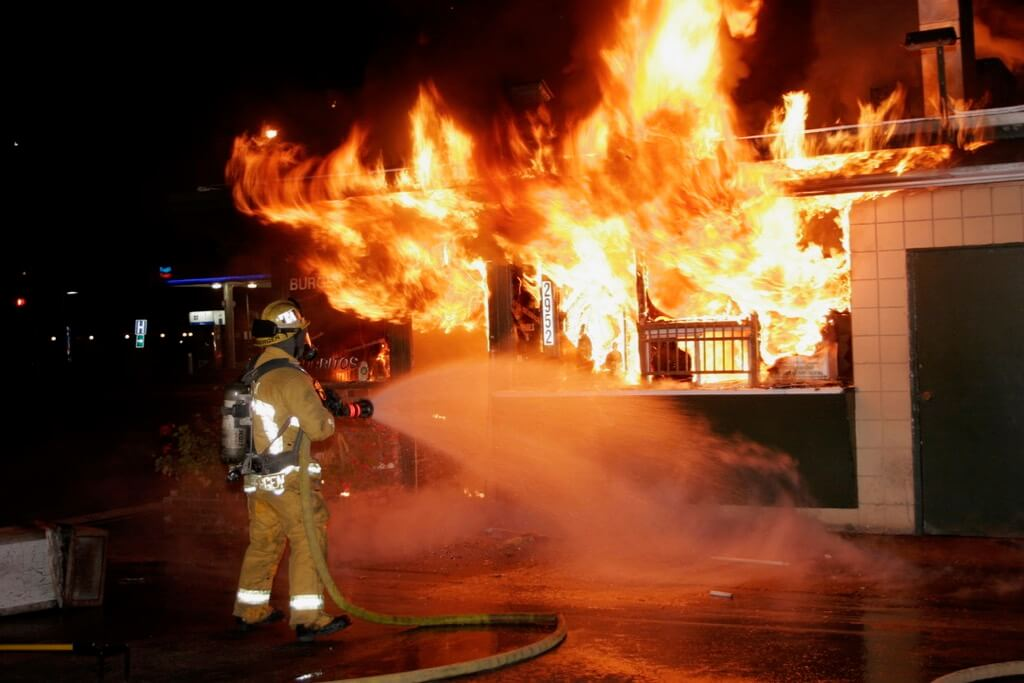 Scott Miller - Fire in Anaheim, California