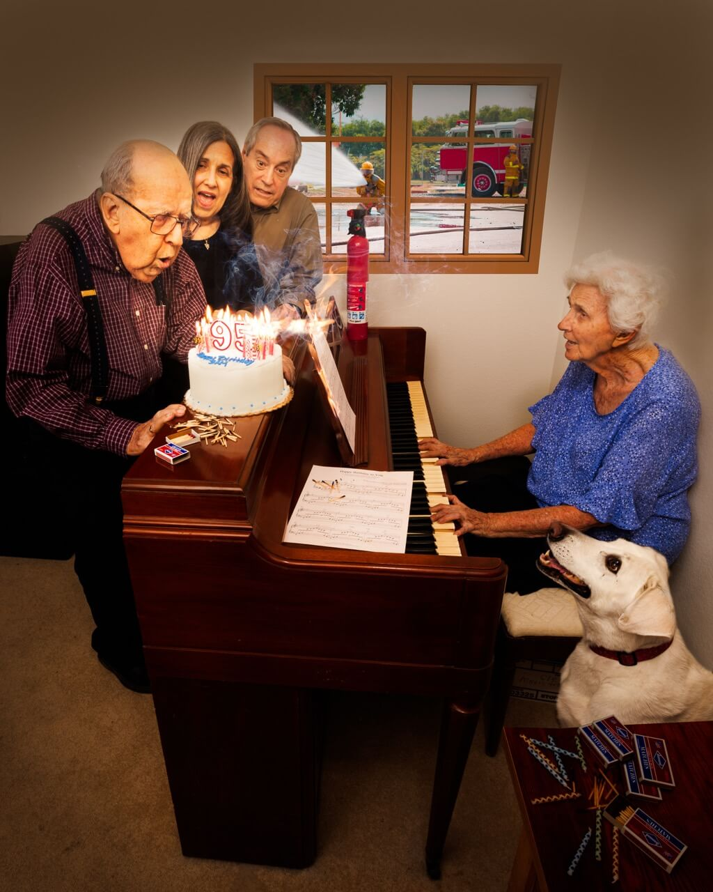 Stephen W. Cook - Oh Oh 95th Birthday Goes Awry