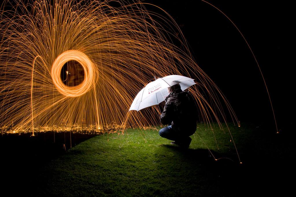 phil daintith - raining fire