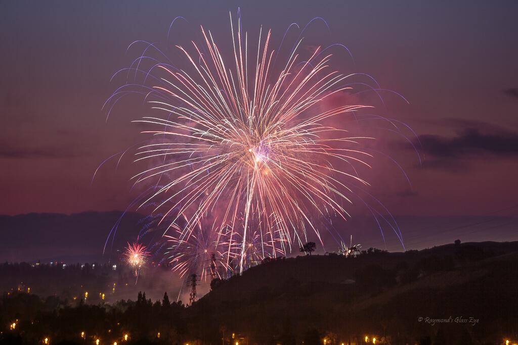 Raymond's Glass Eye - Explosive Fireworks