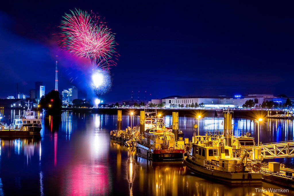 Timo Warnken - Bremen Fireworks