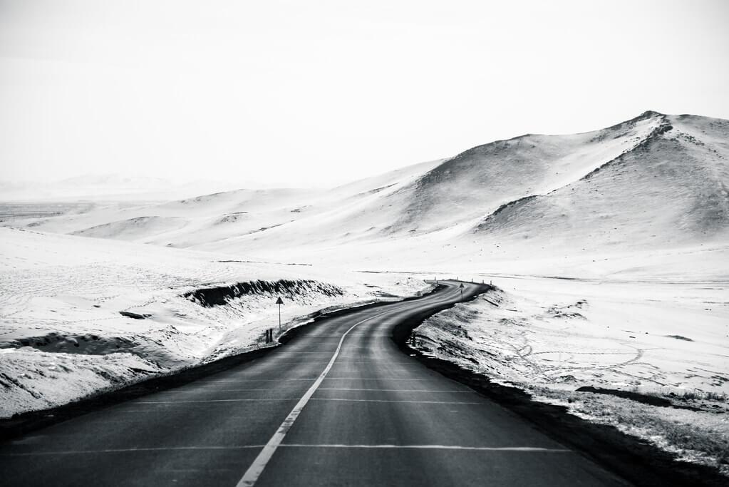 Shirren Lim - Mongolian road