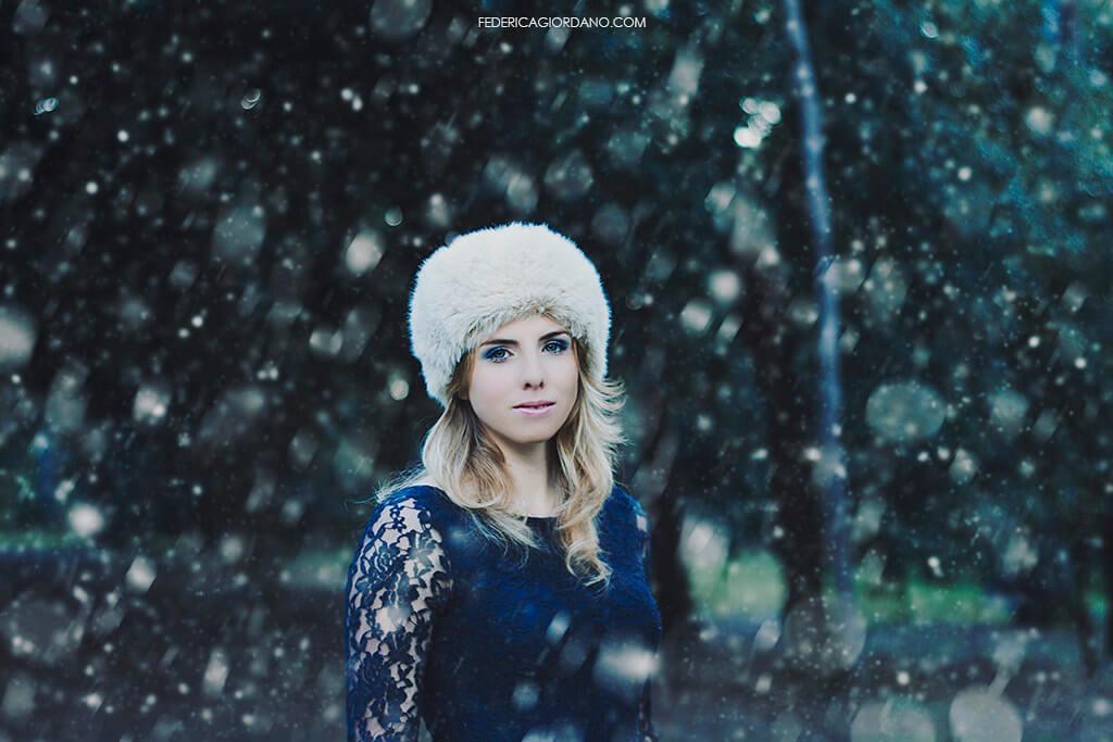 Federica Giordano - Winter portrait