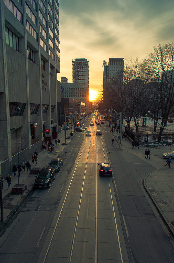 Jack Nobre - Sunset On Queen st. Toronto